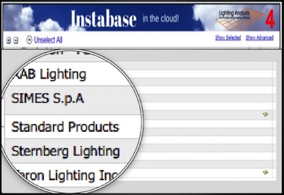 Standard's Photometric Data Now on Lighting Analyst's Instabase